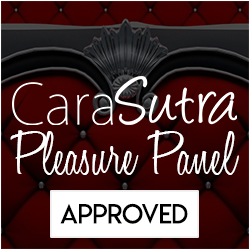 Cara Sutra Pleasure panel badge
