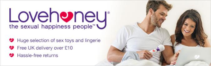 Lovehoney banner
